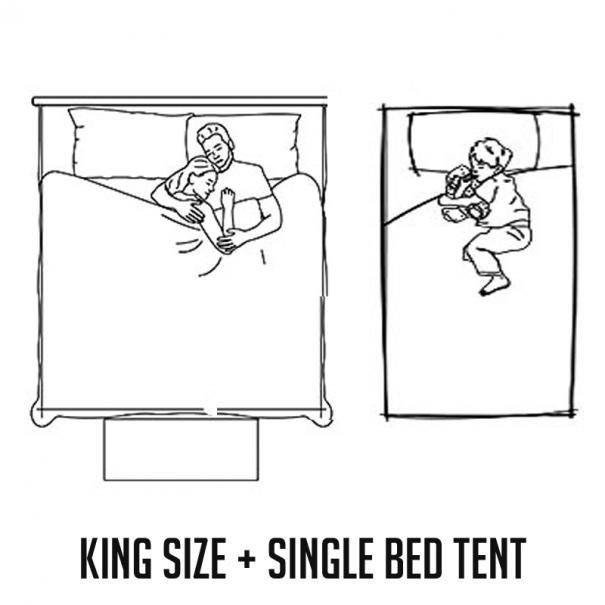 KingSize+SingleBed
